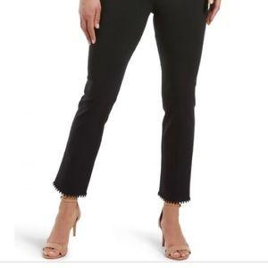 HUE Skimmer Pants Black Sz L  NWT